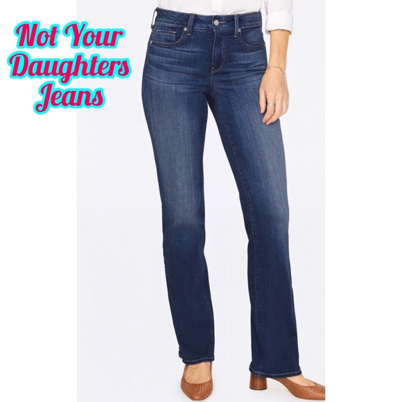 NYDJ Denim - Not Your Daughters Jeans Straight Cut Size 6